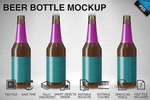 Beer Bottle Mockup 04