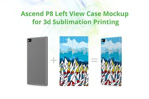 Ascend P8 3d Case Design Mock-up