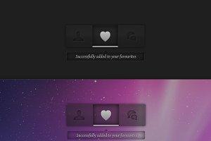 Transparent UI Style