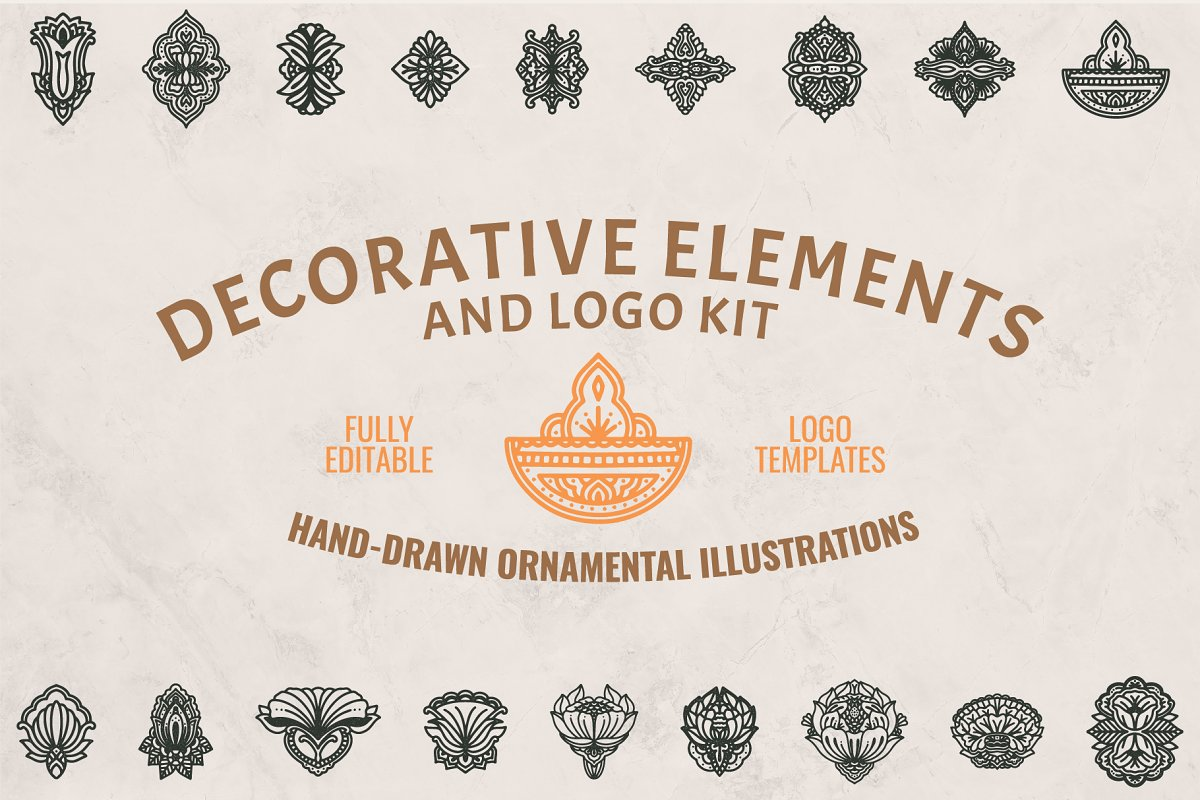 Decorative Elements & Logo Kit