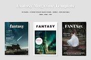 Fantasy Magazine Template