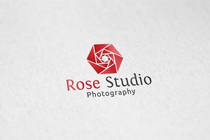 Rose Studio - Logo Template