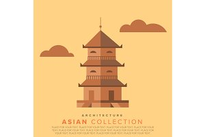 Traditional Asian architecture.