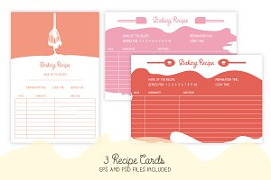 Cute Recipe Cards