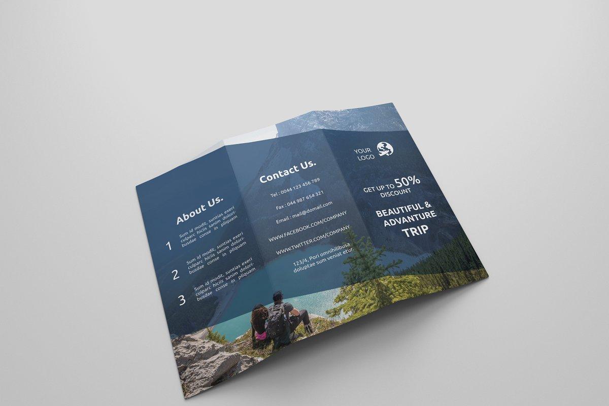 Travel Tri-fold Brochures