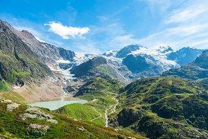 The Susten Pass, Switzerland