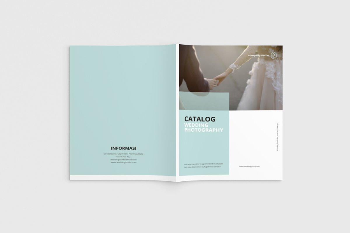 Catalog Wedding Brochure