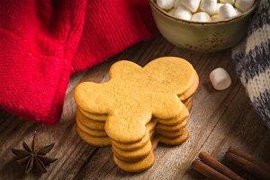 Gingerbread man cookies!