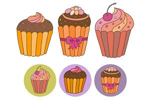 Cupcakes + patterns