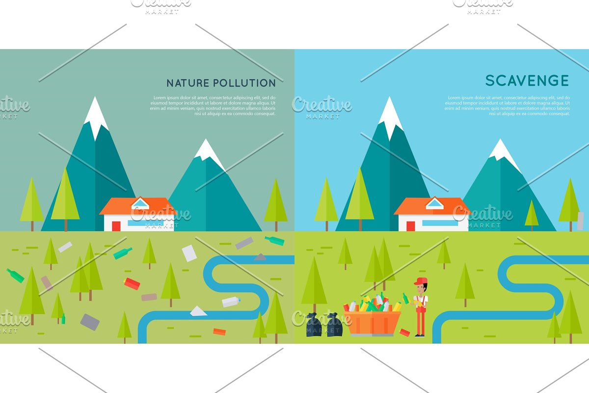 Nature Pollution and Scavenge