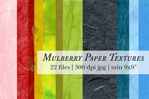 Mulberry Natural Paper Texture Pack