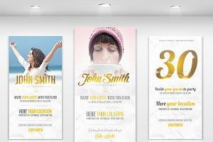Invitations - Flyer Template