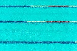 transparent swimming pool water