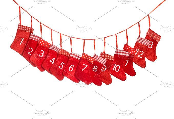 Advent calendar. Christmas - Holidays