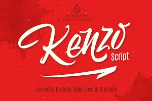 Kenzo Script + Swash (35% off)
