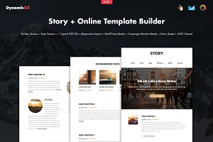 Story + Online Template Builder