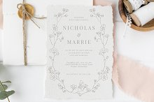 Elegant Floral Wedding Suite