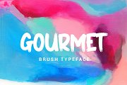 GOURMET // STRONG BOLD FONTS