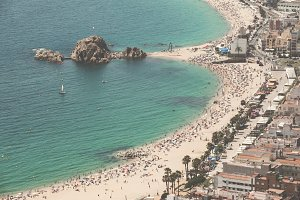 Blanes aerial view