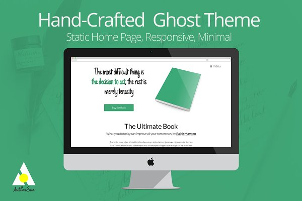 Ghost Themes - Hand-Crafted Ghost Theme for Authors