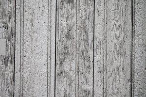 Wasted wooden door