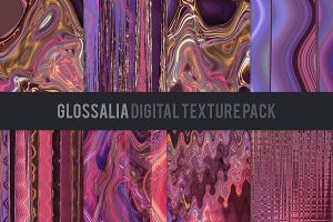 Glossalia Digital Texture Pack