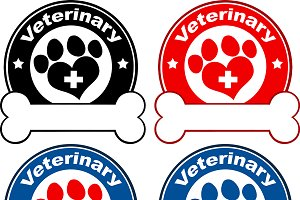 Paw Print Banners Collection- 5