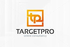 Target Pro - Letter T & P Logo