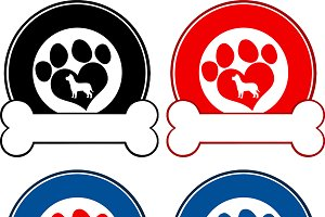 Paw Print Banners Collection- 6