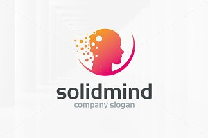 Solid Mind Logo Template