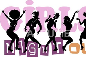 Girls' Night Out Banner