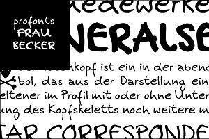 Frau Becker Headline
