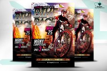 Bike Race PSD Flyer