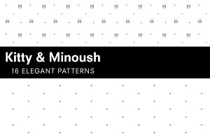 Kitty & Minoush -16 elegant patterns