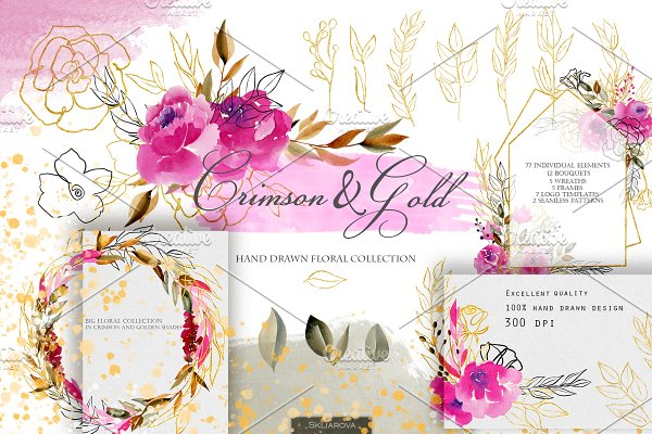 Crimson and Gold collection