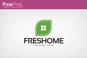 Fresh Home Logo Template