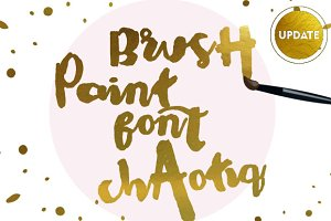 Chaotiq Modern Paint Brush Font