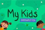 My Kids Handwritten - Font