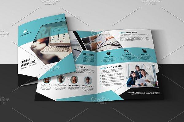 Business Bifold Brochure V972