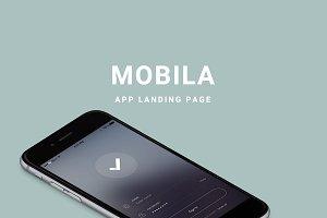 Mobila - App Landing Page