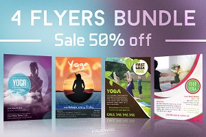 Yoga Flyers Bundle