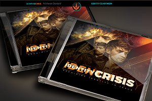Identity Crisis CD Artwork Template