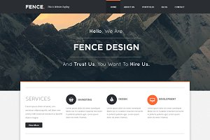 Fence - Custom Wordpress