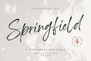 Springfield | Handwritten Font
