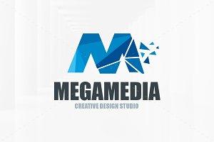 Mega Media - Letter M Logo