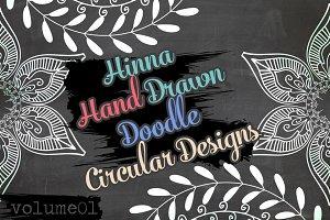 Hina Hand Drawn Doodle Circles