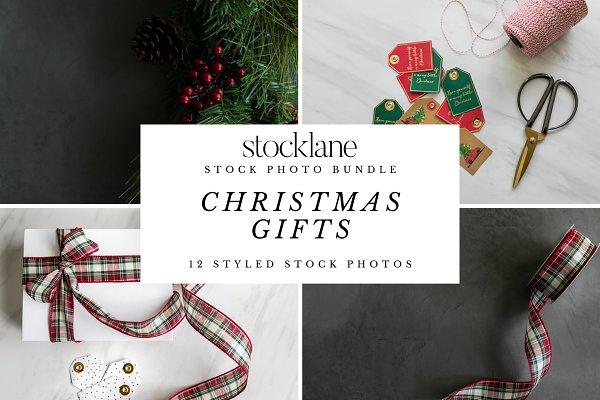Christmas Gifts Stock Photo Bundle