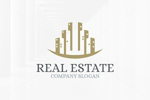 Real Estate - Buildings Logo