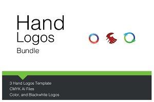 Hand Logos Bundle
