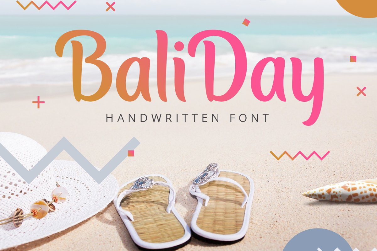 Baliday Summer Font in Display Fonts - product preview 5